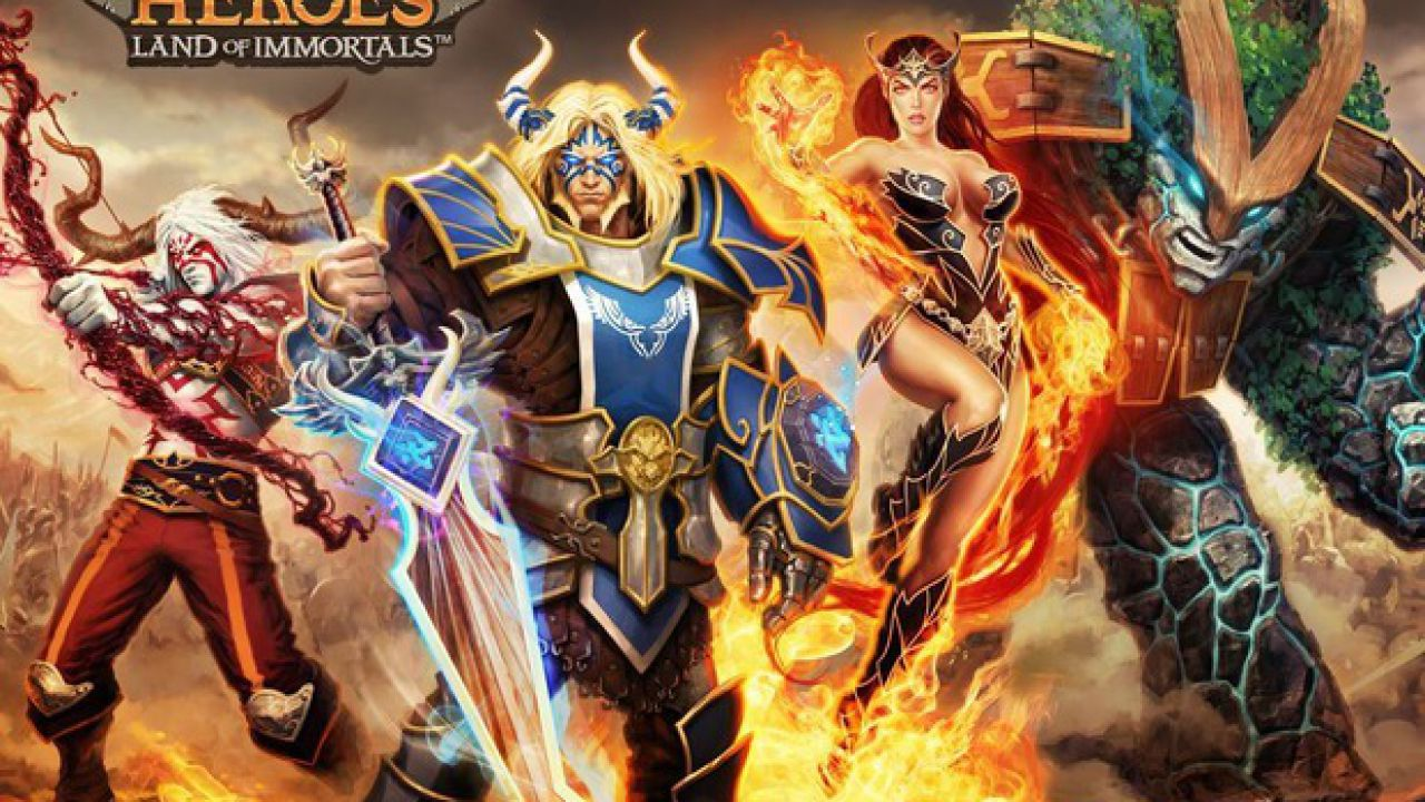 Battle of Heroes Land of Immortals annunciato per iOS e Android