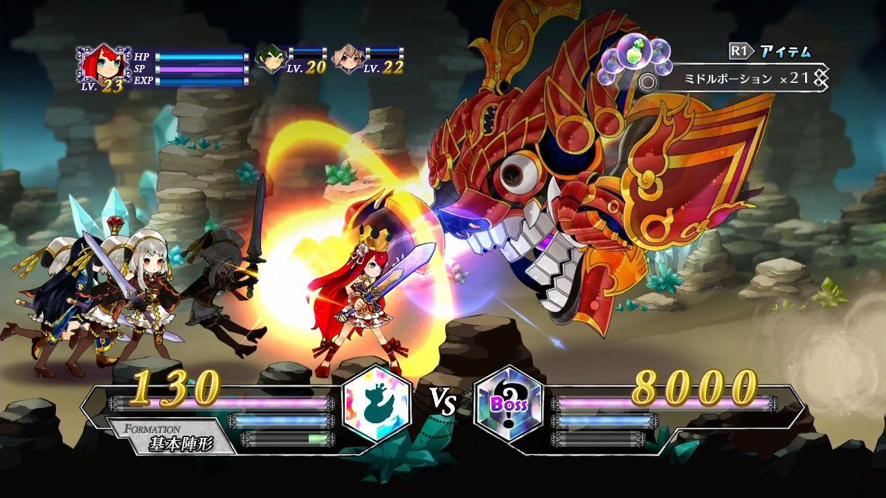 Battle Princess of Arcadias si mostra in nuove immagini