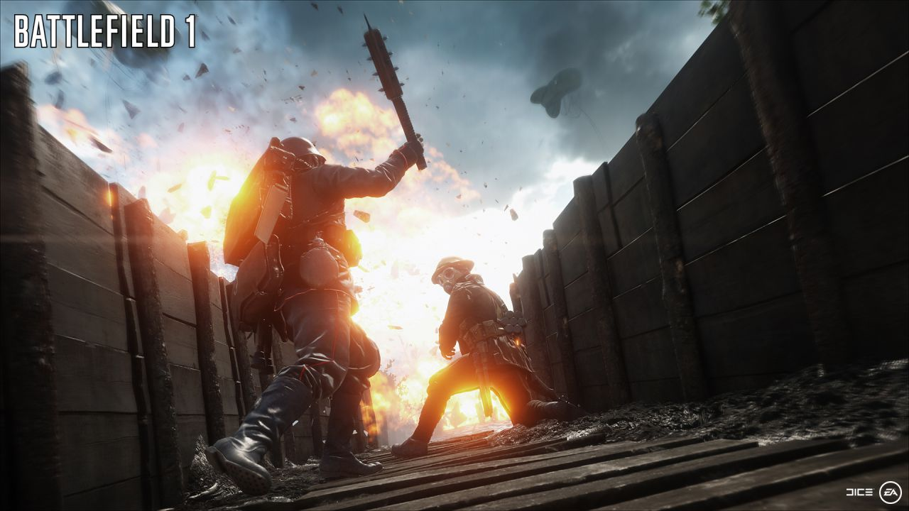 Battlefield 1 a confronto su Xbox One e PC Ultra