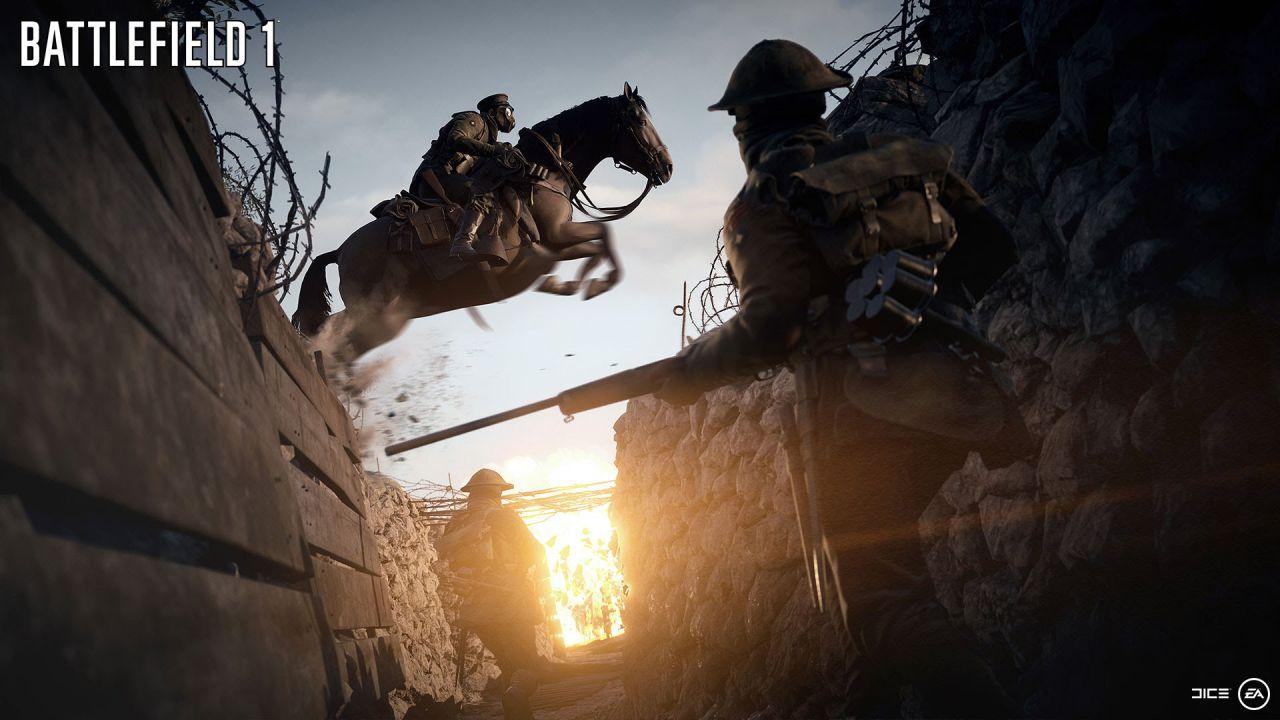 Battlefield 1: DICE spiega il funzionamento dei cavalli nel multiplayer