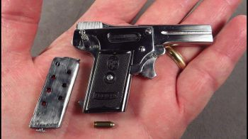 Battlefield 1: ecco la Kolibri Pistol, la pistola più piccola al mondo