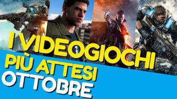 Battlefield 1, Mafia 3 e Gears of War 4 tra i giochi più attesi attesi di Ottobre 2016
