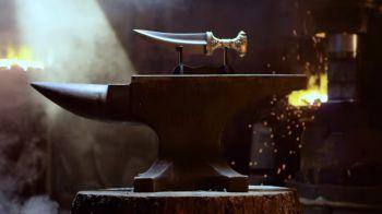 Battlefield 1: Man at Arms forgia una replica della Janbiya