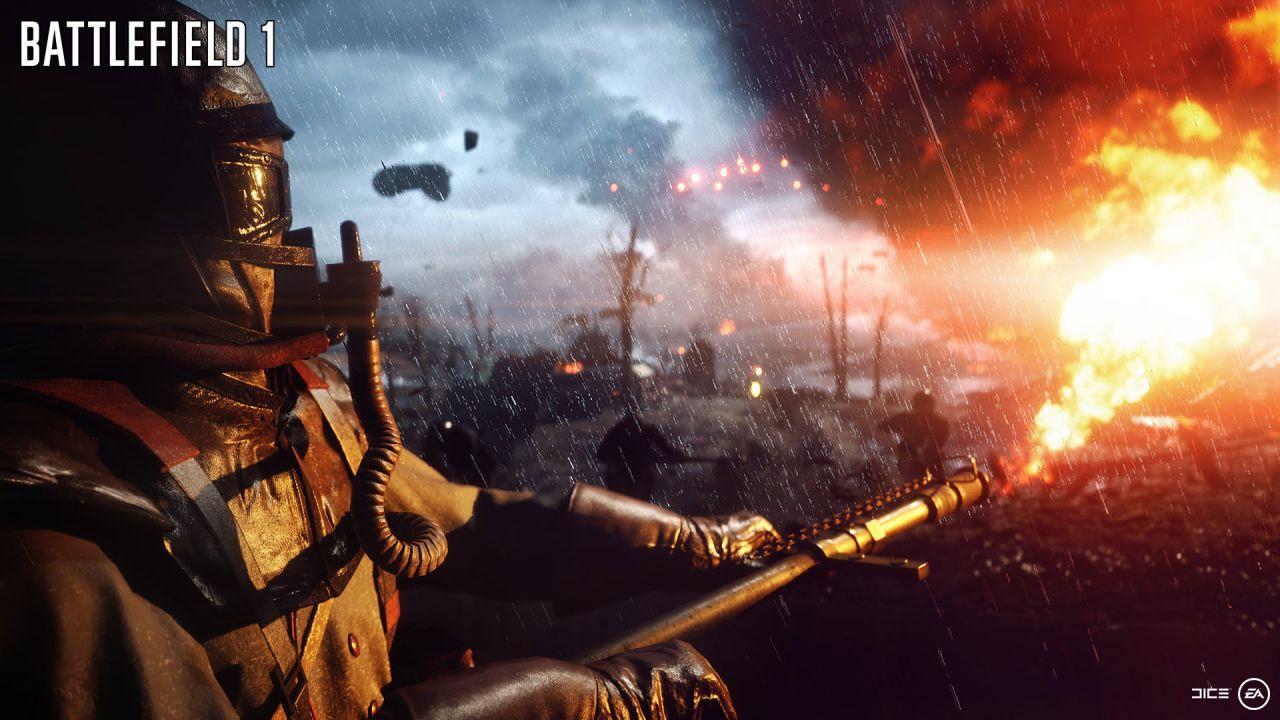 Battlefield 1: su PS4 richiede 45.5 GB di spazio
