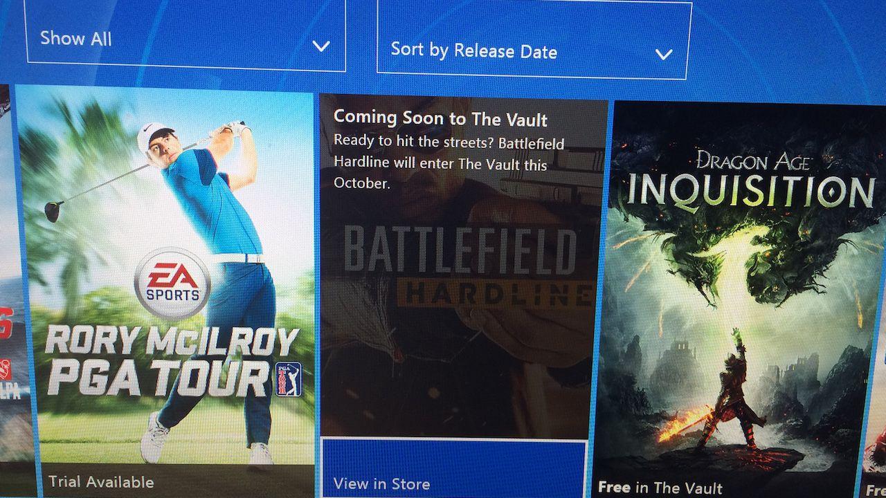 Battlefield Hardline entrerà nel Vault di EA Access a ottobre?