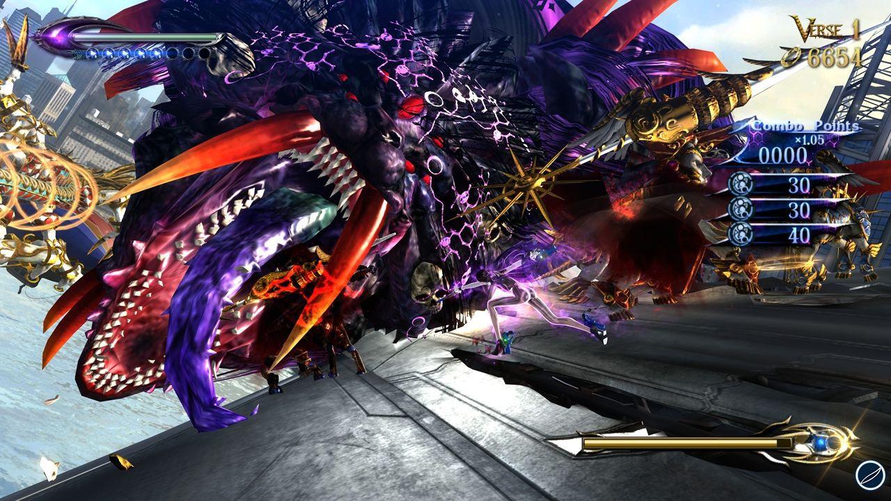 Bayonetta 2: video gameplay tratto dal prologo