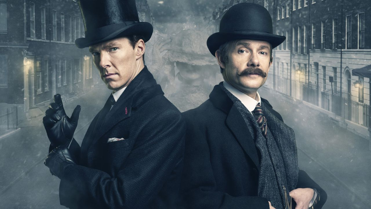Benedict Cumberbatch da del 'patetico' a Martin Freeman, per via delle critiche a Sherlock