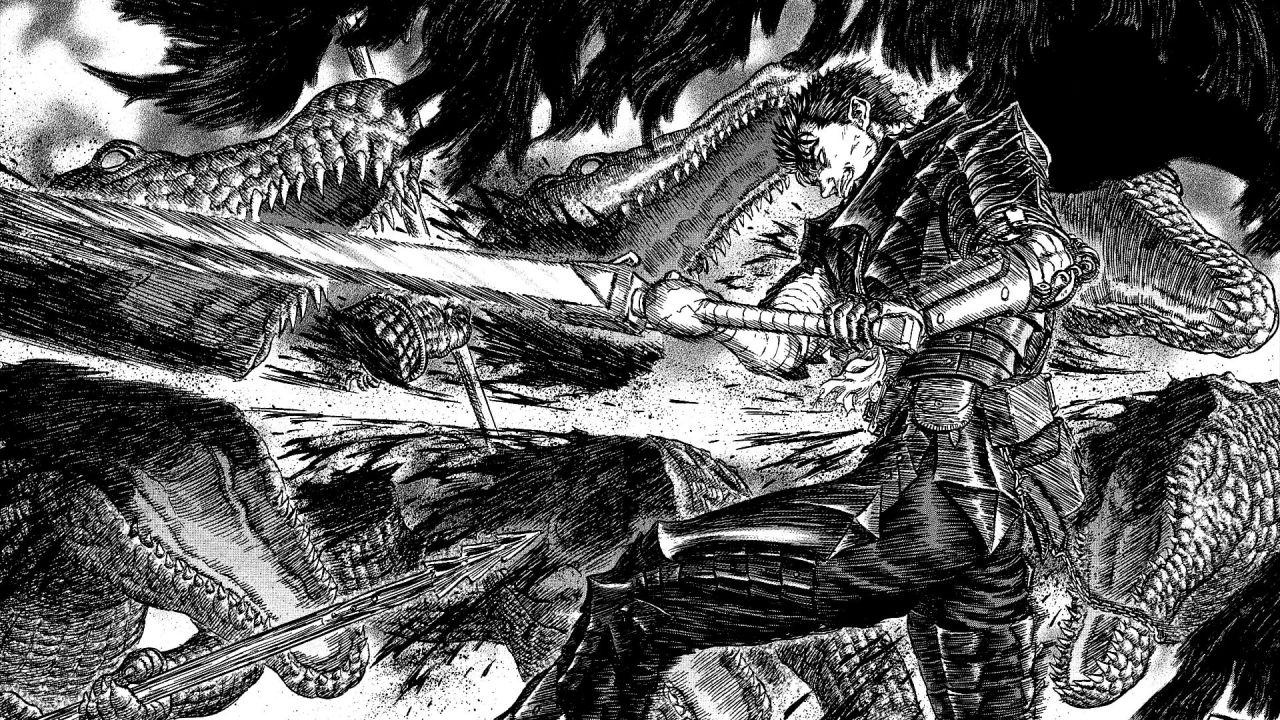 Berserk: ecco come Gatsu si libera facilmente dei calabroni killer