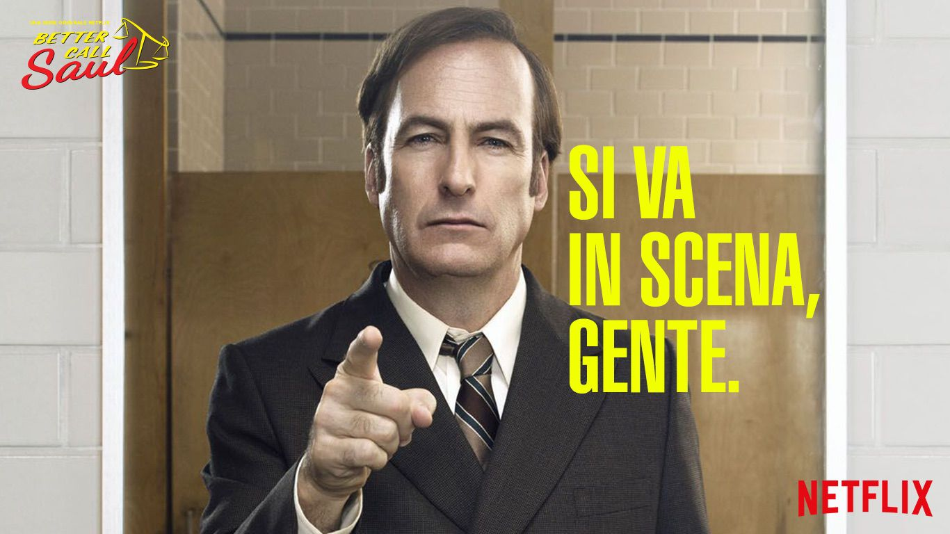 Better call saul james mcgill arriva in italia con tanto for Numero di politici in italia