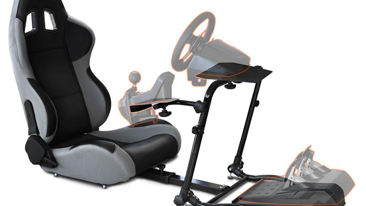 BigBen Interactive presenta la postazione 120-RS Competition Seat per PS3, Xbox 360 e Pc