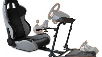 BigBen Interactive presenta la postazione 120-RS Competition Seat per PS3, Xbox 360 e Pc