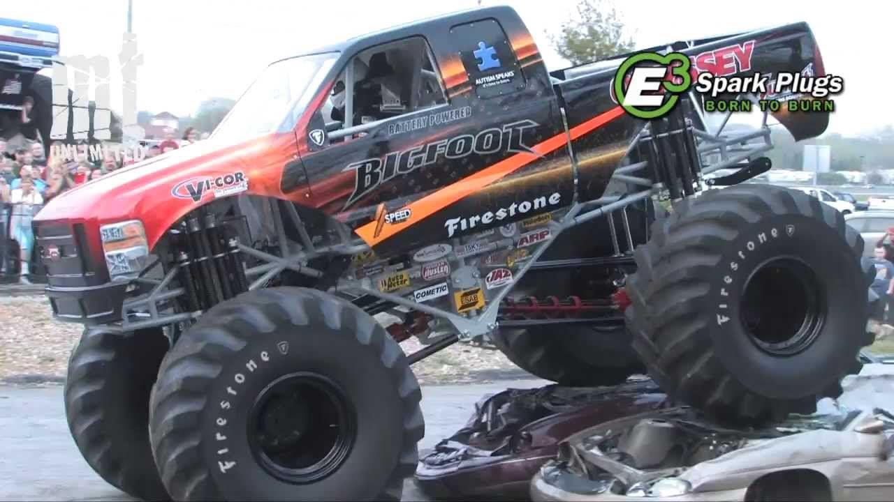 Bigfoot 4x4 Challenge, racing game freeware