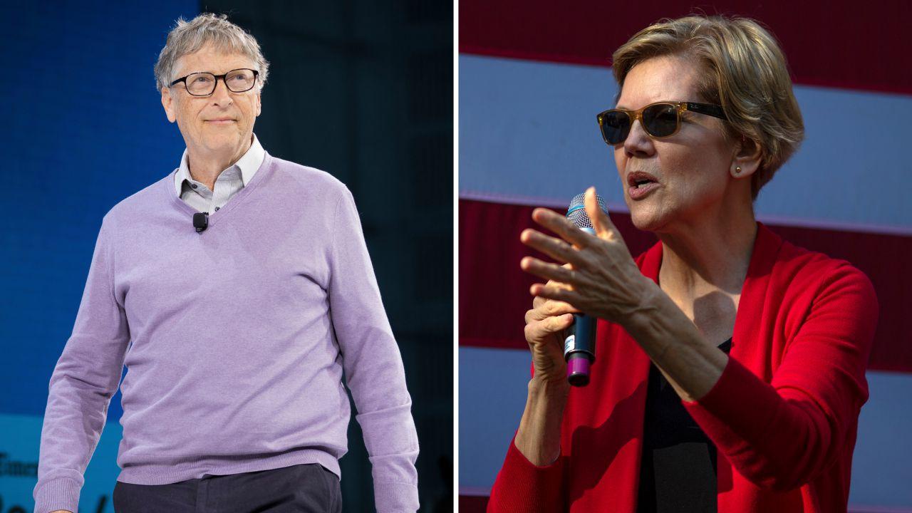 Bill Gates ironizza sulla proposta di patrimoniale di Elizabeth Warren
