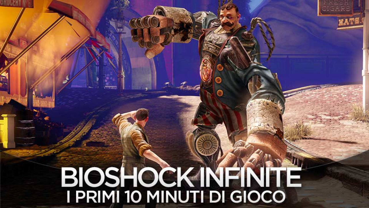 BioShock Infinite: patch per le versioni console