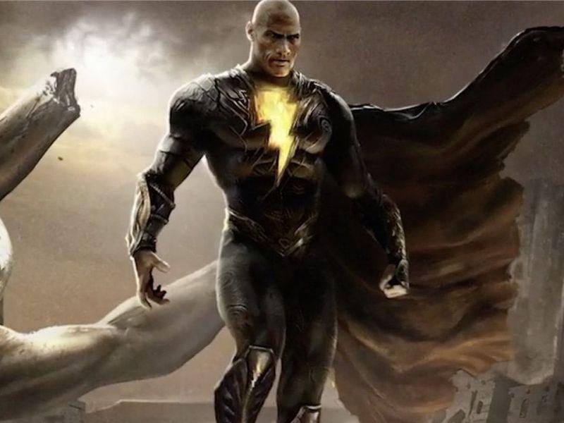 Black Adam: ancora foto spoilerose dal set del cinecomic con The Rock