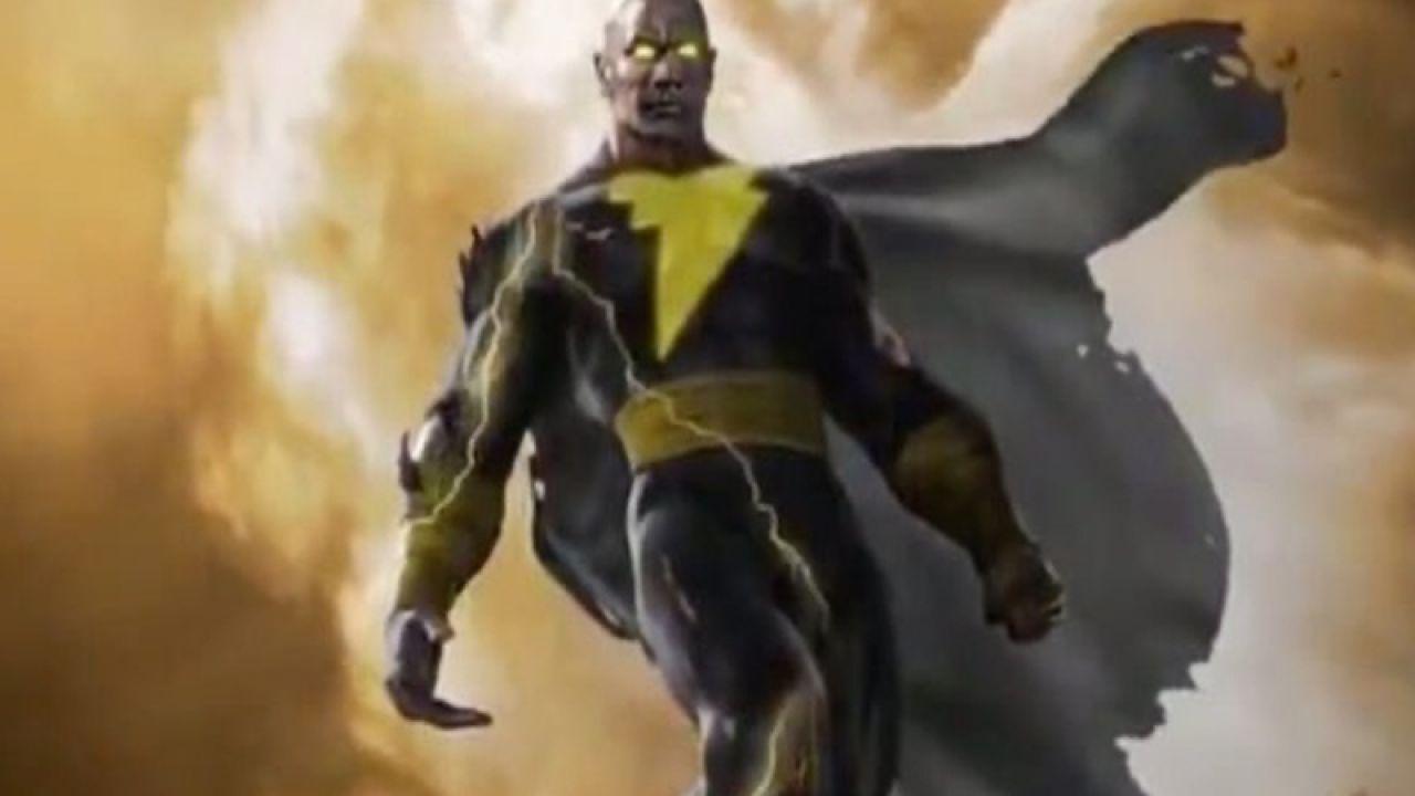 Black Adam, una nuova fanart ritrae The Rock nel ruolo