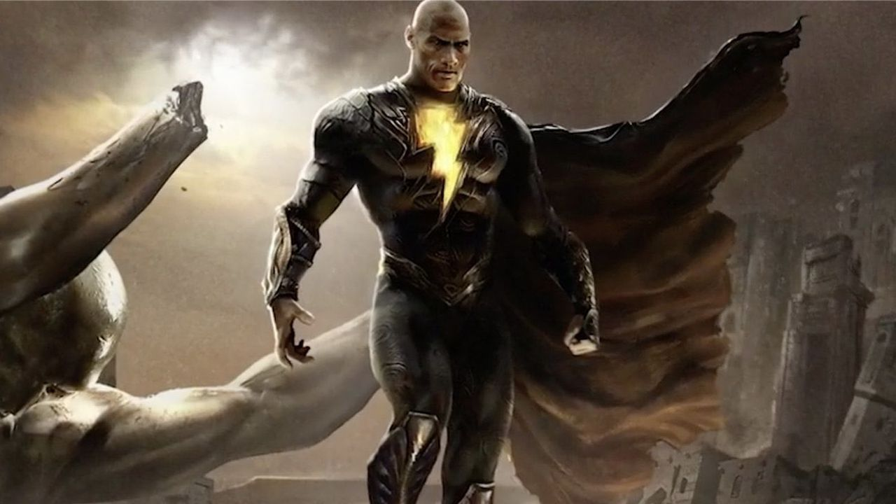 Black Adam: The Rock svela finalmente la data d'uscita del cinecomic Warner/DC