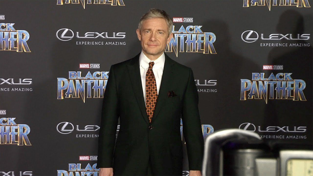 Black Panther 2, Martin Freeman rivela quando inizieranno le riprese
