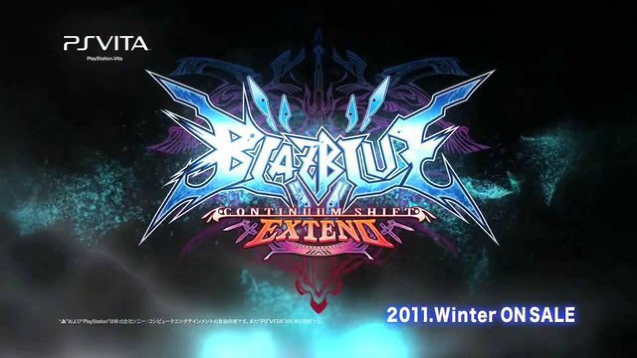 BlazBlue Continuum Shift Extend sarà un titolo di lancio di PS Vita