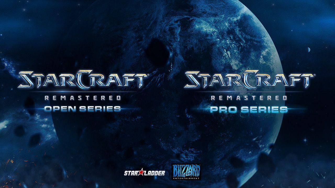 Blizzard e StarLadder annunciano le StarCraft Remastered Series, aperte a Pro e Casual