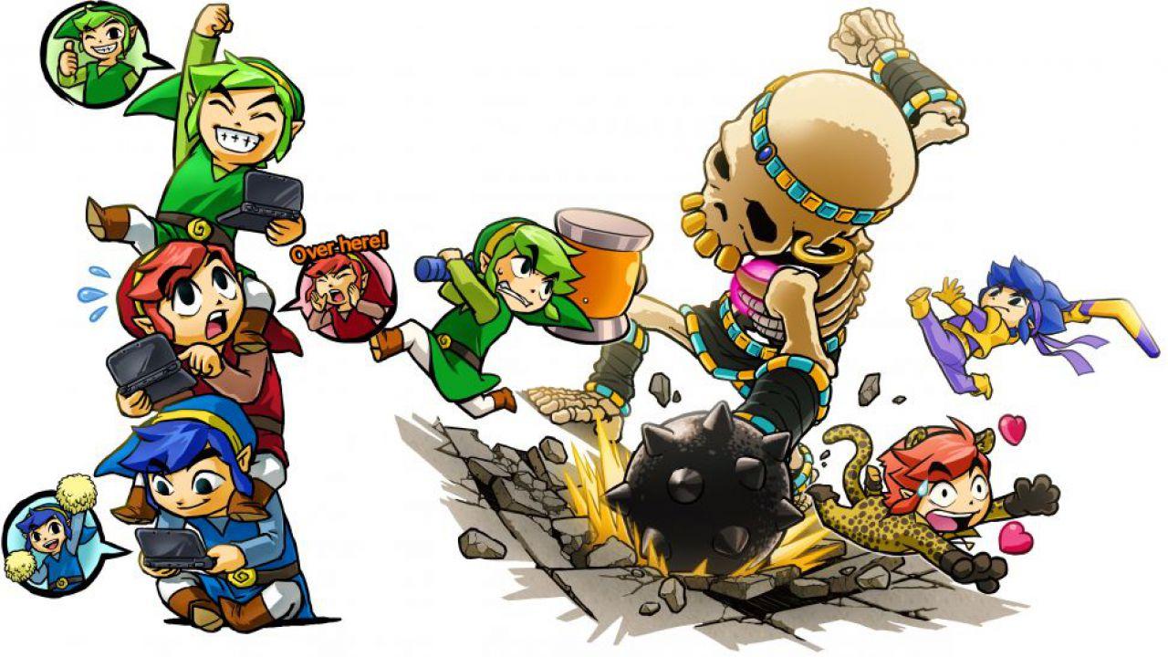 Blocchi regionali per il multiplayer di The Legend of Zelda Tri Force Heroes