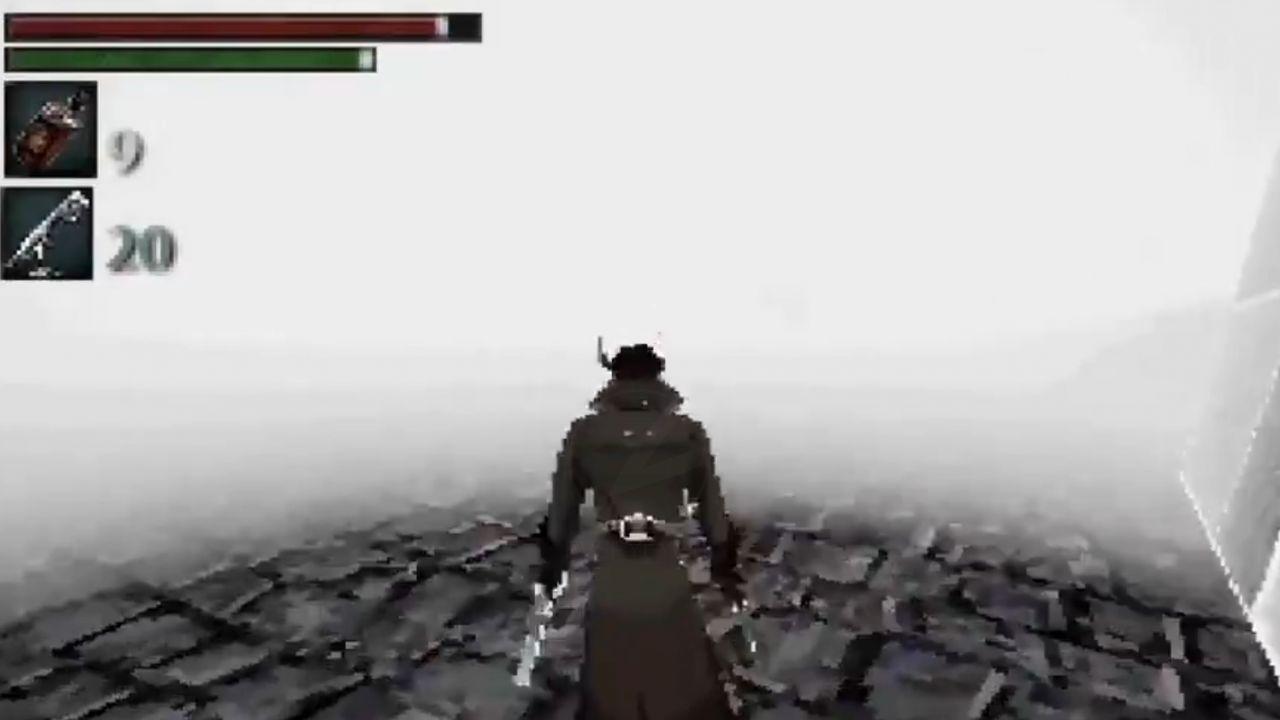 Bloodborne: i fan ricreano la versione PS1 del gioco FromSoftware