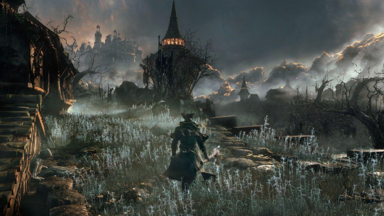 Bloodborne The Old Hunters: 11 minuti di gameplay off-screen