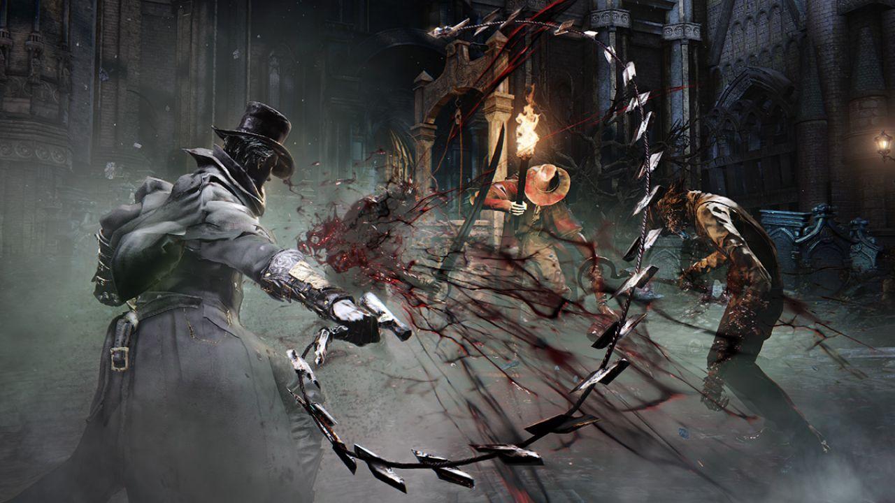 Bloodborne The Old Hunters si mostra brevemente alla Paris Games Week