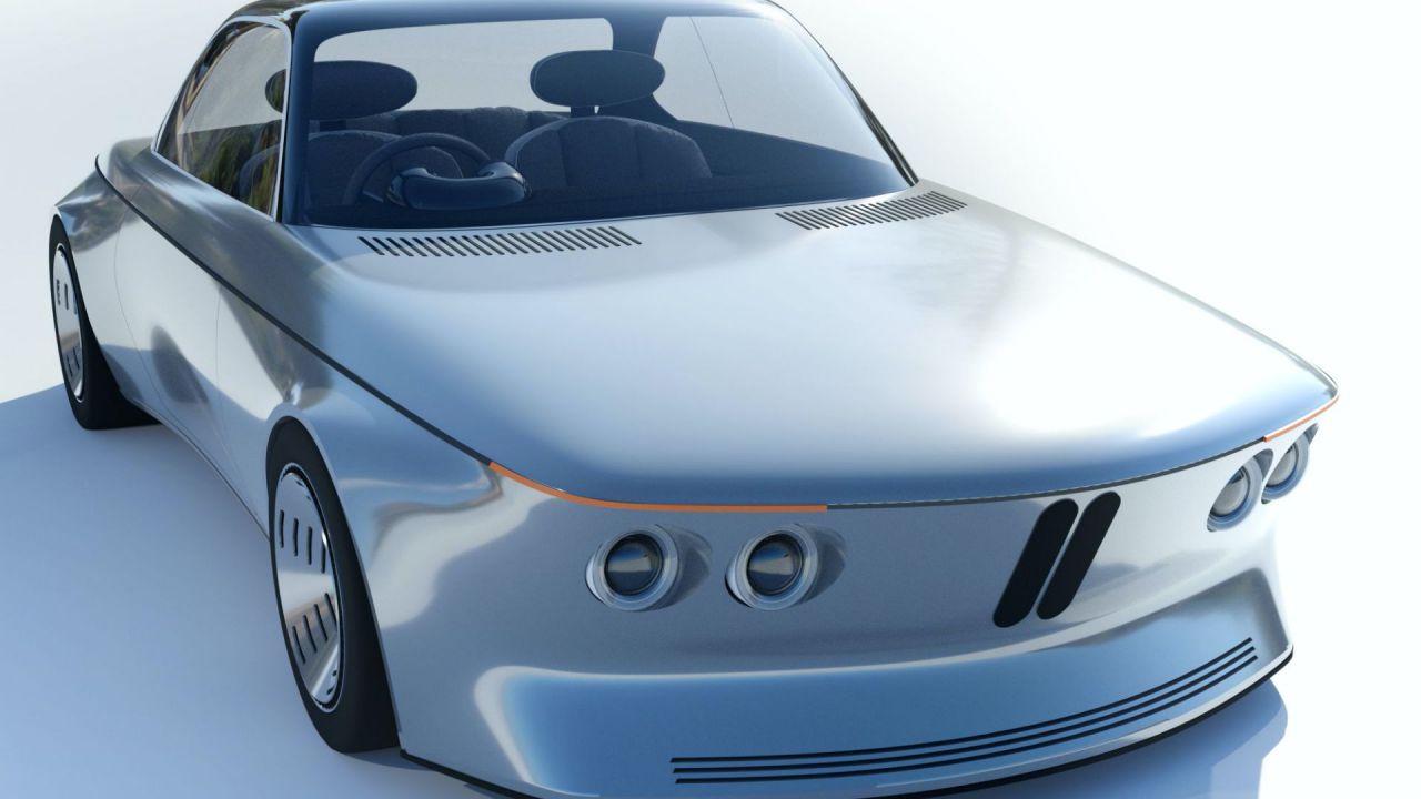 BMW EV9: un design futuristico per l'imminente era elettrica