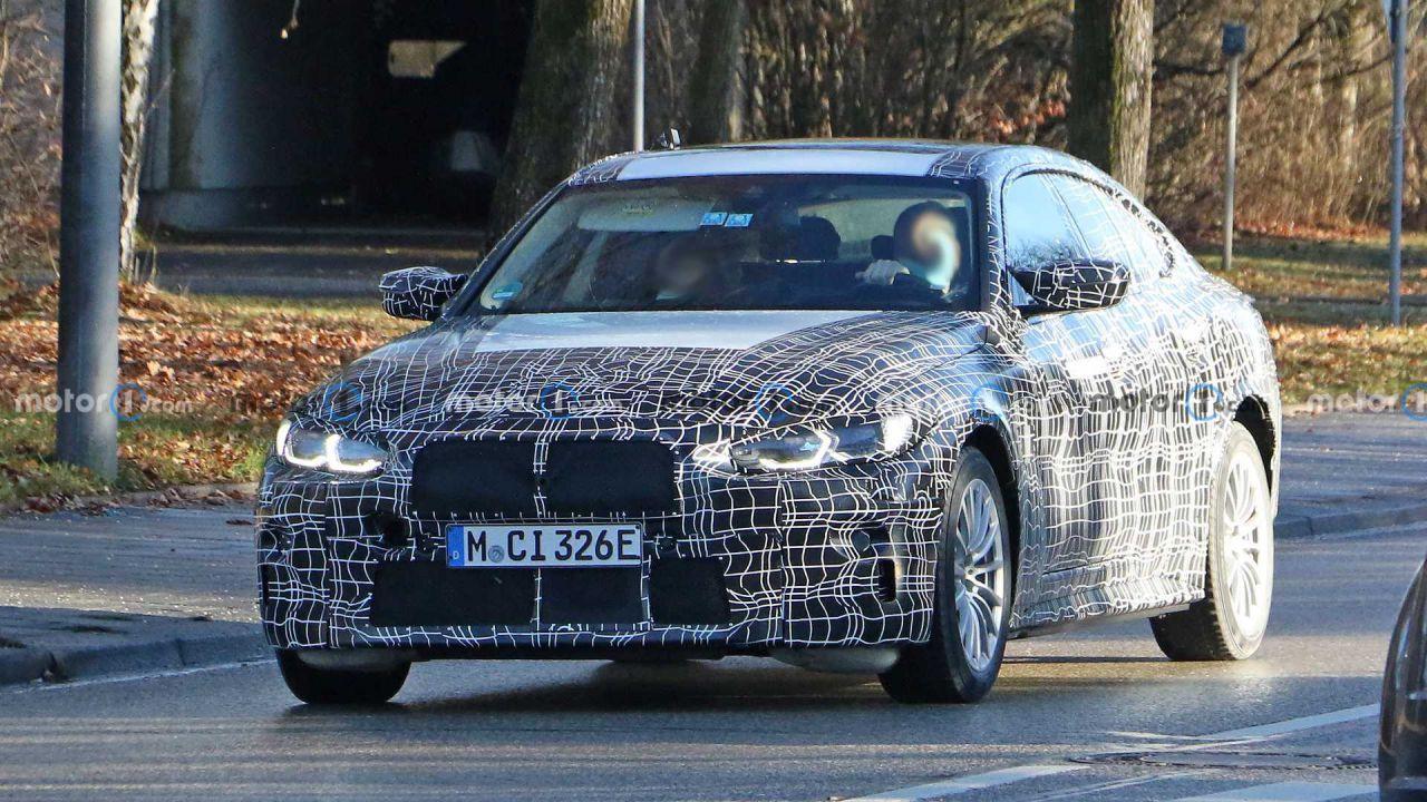 BMW i4 M spiata sulle strade pubbliche: tutte le info sulla berlina elettrica