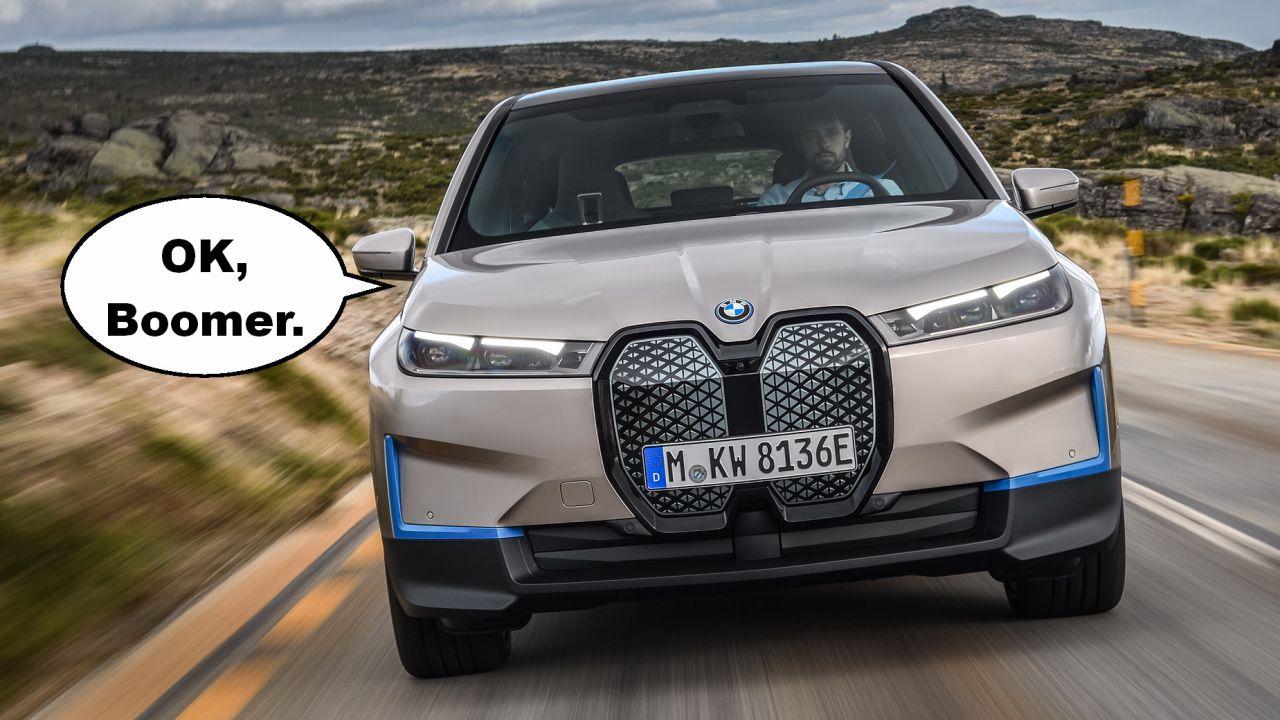 BMW si scusa con tutti per aver commentato con:'OK, Boomer'