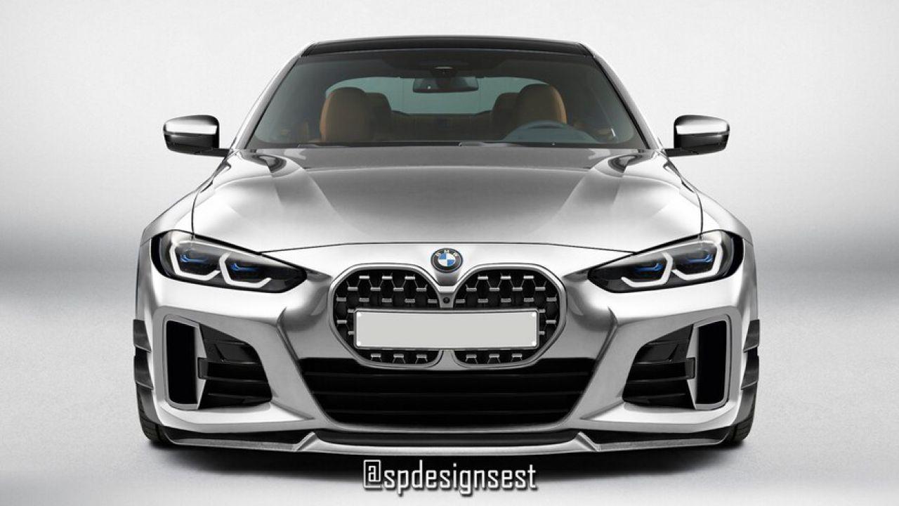 BMW Serie 4: ecco il suo aspetto senza l'enorme griglia frontale