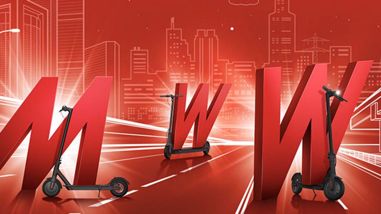 Bonus monopattino 2020: i monopattini elettrici Segway in offerta da Mediaworld