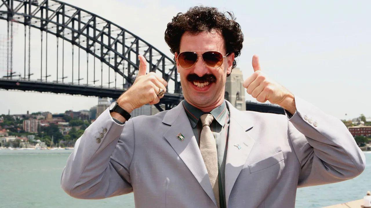 Borat, Sacha Baron Cohen cuore d'oro: donati 100.000 dollari a una star del film