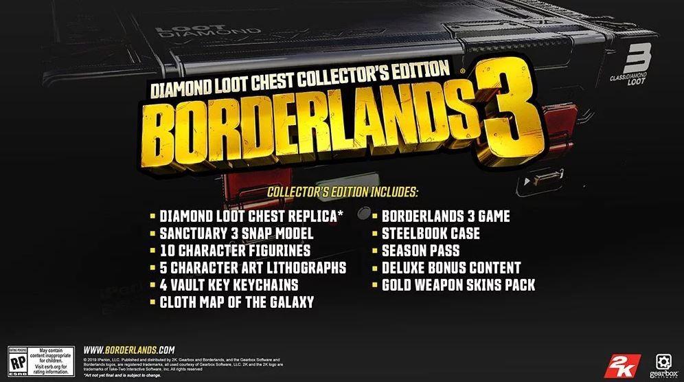 Borderlands 3 collector 39 s edition uno sguardo - Borderlands 3 box art wallpaper ...