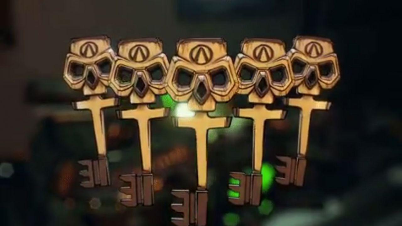 Borderlands 3: anche a Ferragosto arriva un codice da 3 Chiavi d'Oro gratis