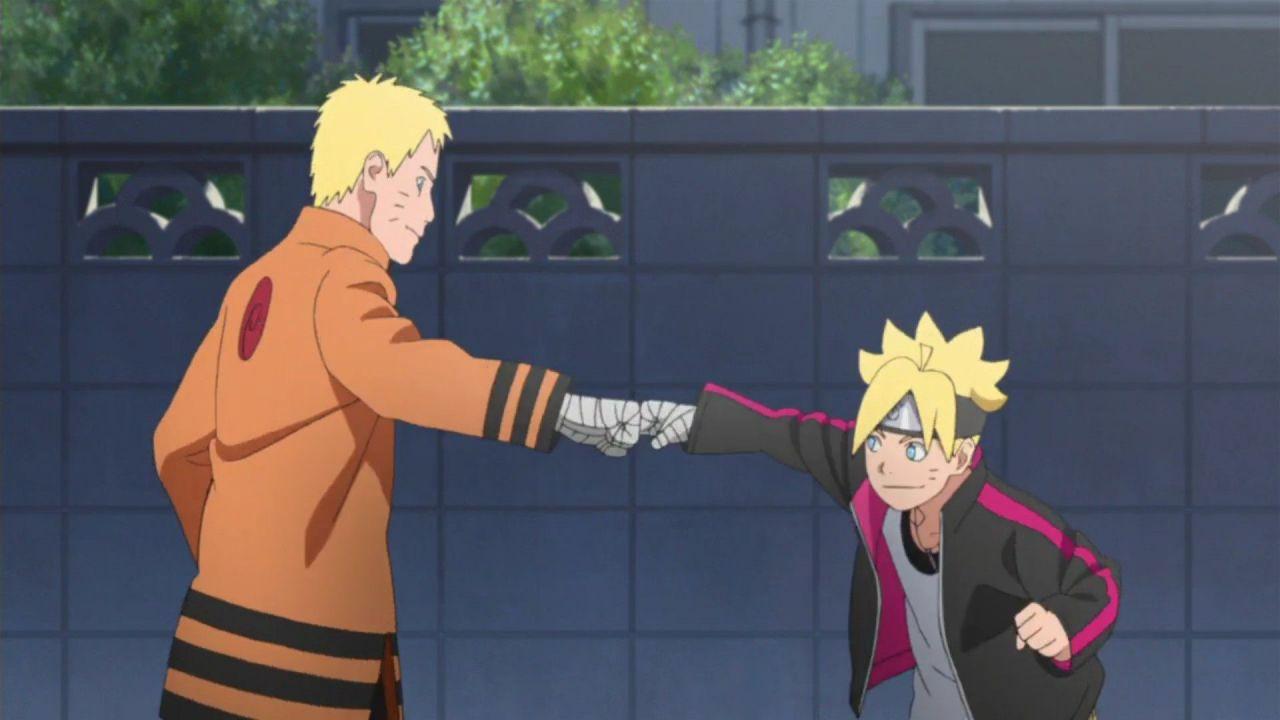 Boruto: inizia lo sconto tra il protagonista e Naruto nella nuova preview