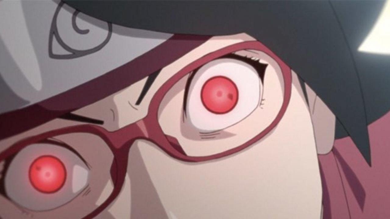 Boruto: Naruto Next Generations: Sarada ce l'ha fatta, nuovo sharingan?