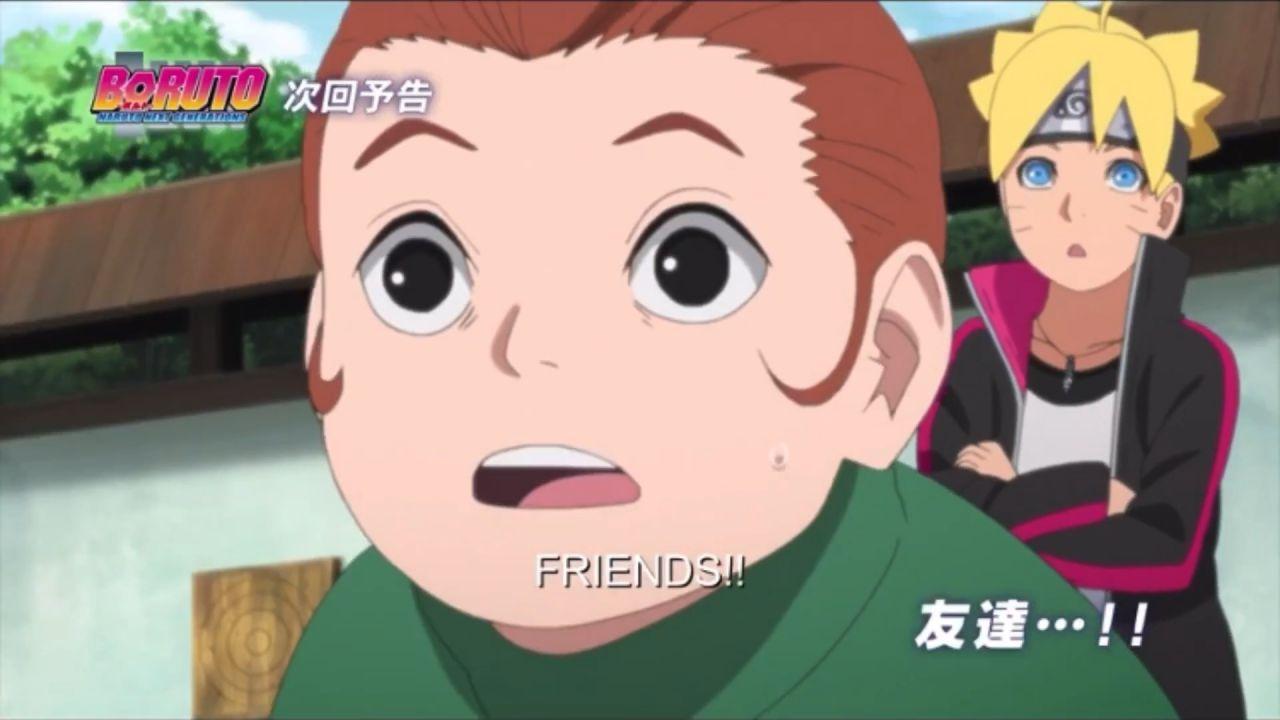 Boruto: Naruto Next Generations, Tento prova una mossa disperata
