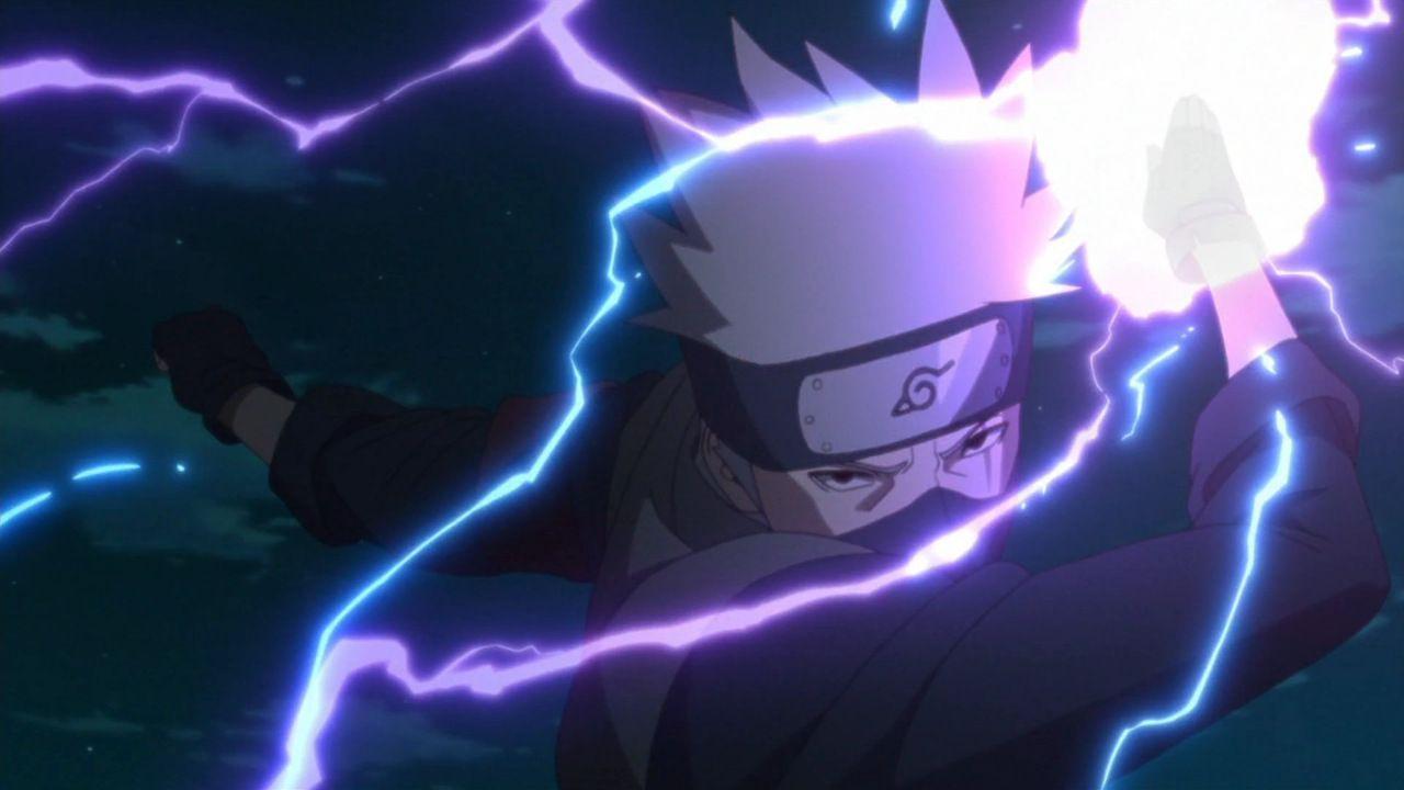 Boruto: il protagonista apprenderà l'Elettricità Viola di Kakashi?