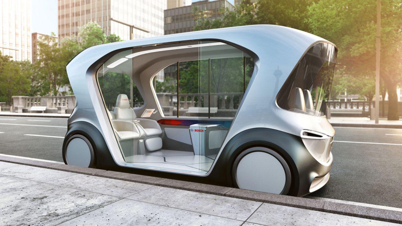 Bosch porterà un veicolo a guida autonoma al prossimo CES di Las Vegas