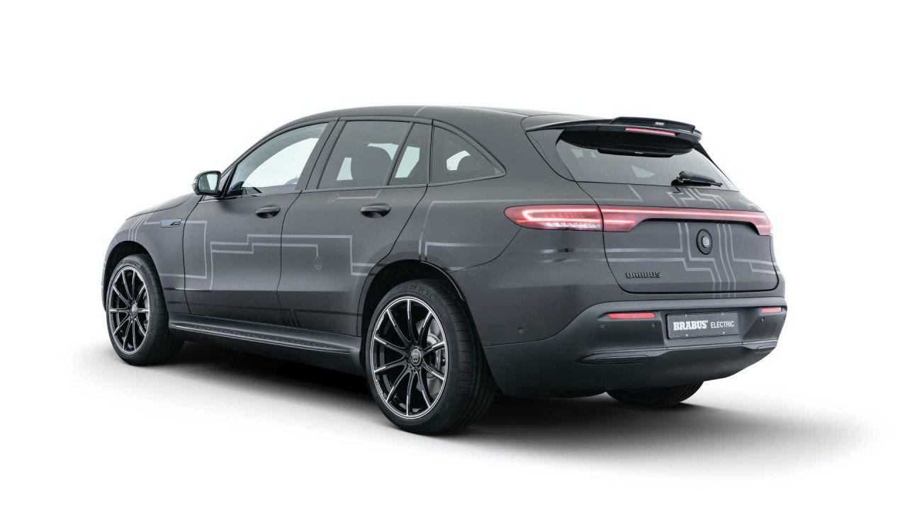 Brabus potenzia il SUV elettrico Mercedes EQC con l'E-PowerXtra Kit