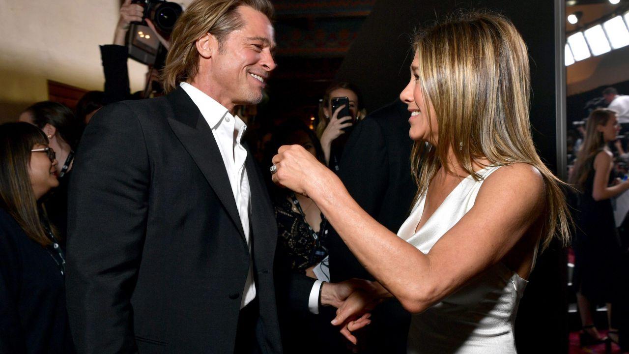 Brad Pitt e Jennifer Aniston di nuovo insieme per un progetto umanitario su Facebook