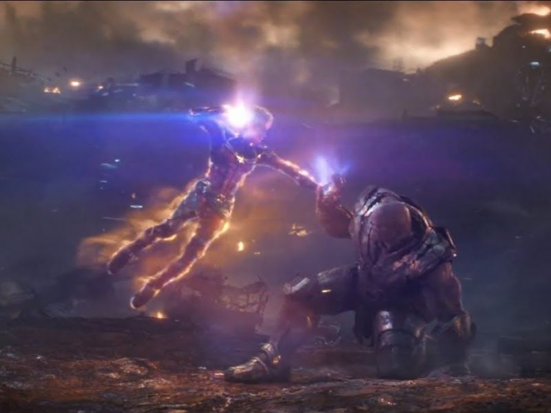 Brie Larson: 'Captain Marvel è l'Avenger più forte, Thanos ha barato!'