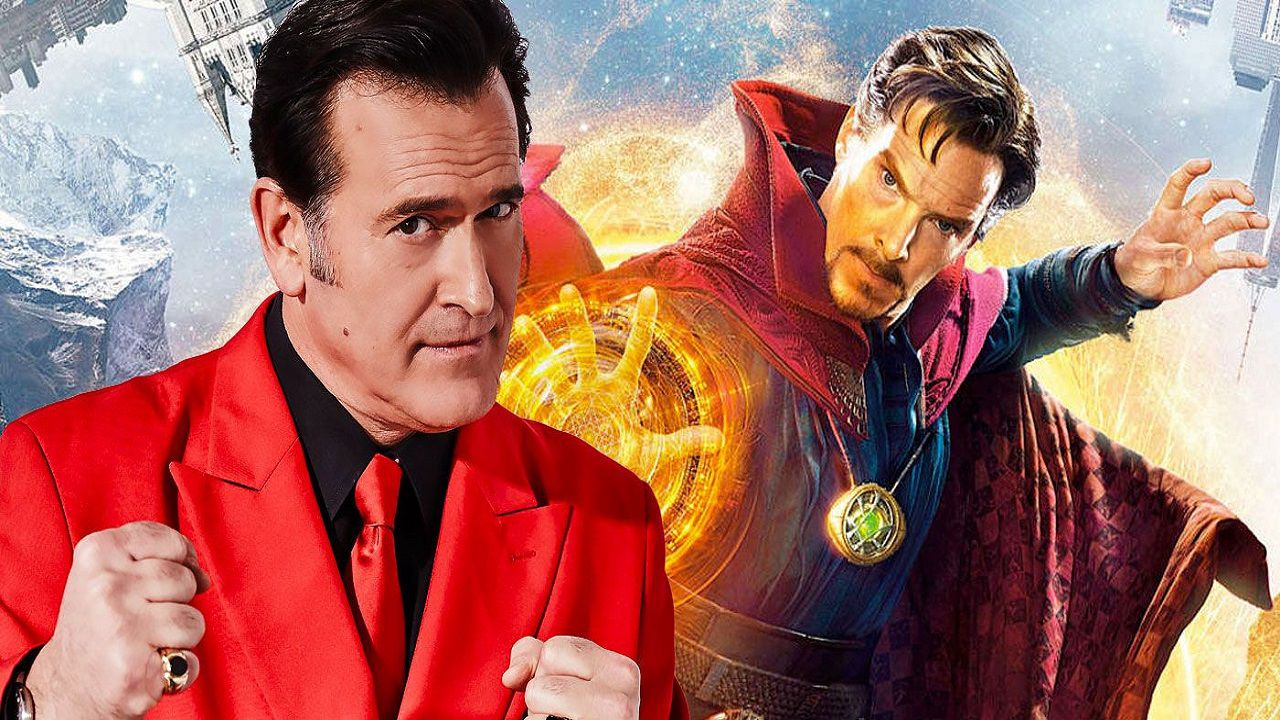 Bruce Campbell sarà in Doctor Strange Multiverse of Madness! Guardate il tweet