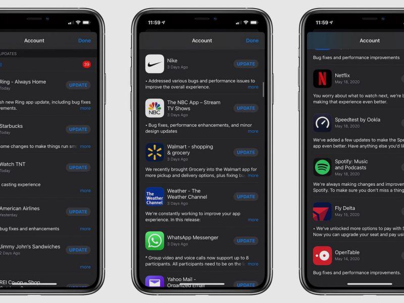 Bug di iOS sta chiedendo agli utenti di installare centinaia di aggiornamenti per le App