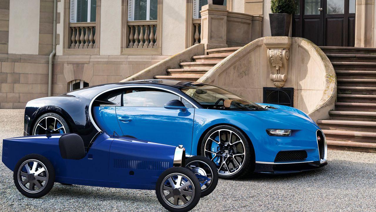 Bugatti Baby II, la piccola elettrica da 30.000 euro e 5.4 CV