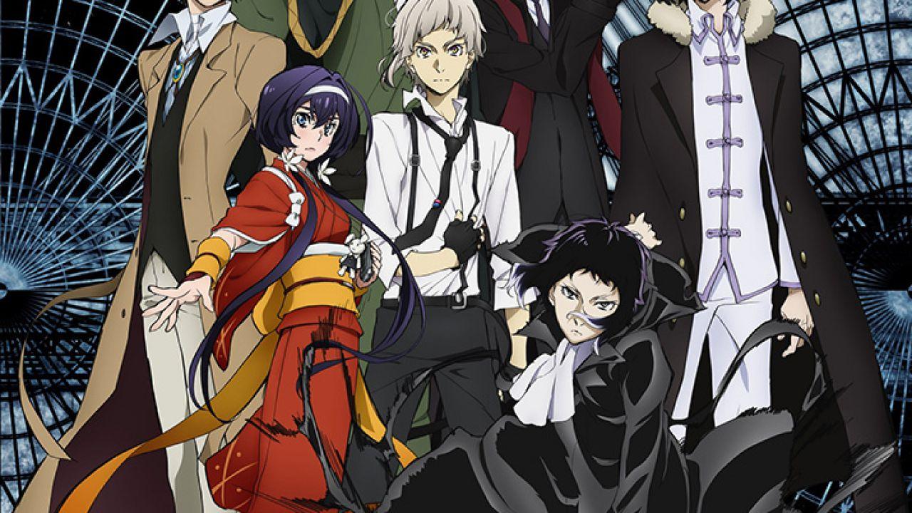Bungo Stray Dogs, nuova key visual e finestra di lancio per la terza stagione dell'anime