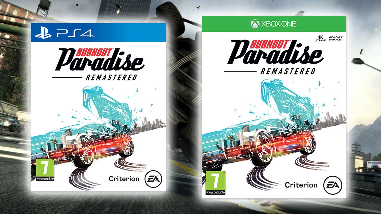 burnout paradise remastered ecco il peso delle versioni ps4 e xbox one. Black Bedroom Furniture Sets. Home Design Ideas