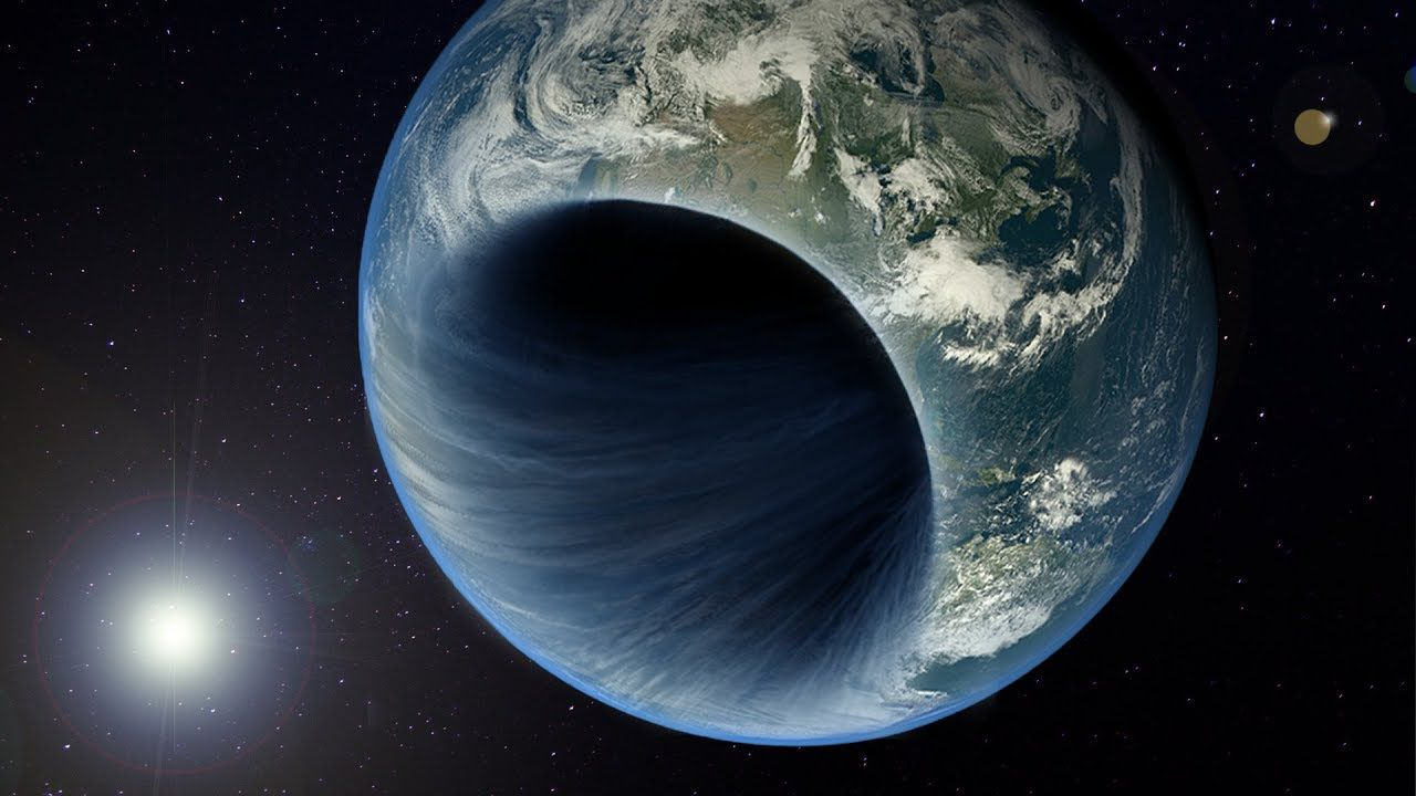 C'è un buco nero al centro della Terra. Questa è la tesi di un controverso articolo